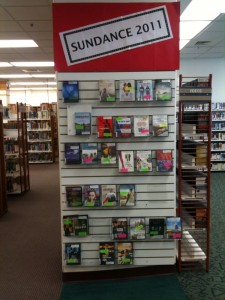 DVD Display of Sundance Films at Park City Library